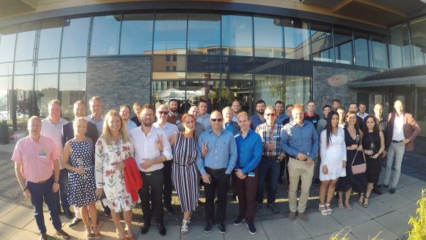Setkání agentur Madeo a BrandMaster v Norsku v srpnu 2017