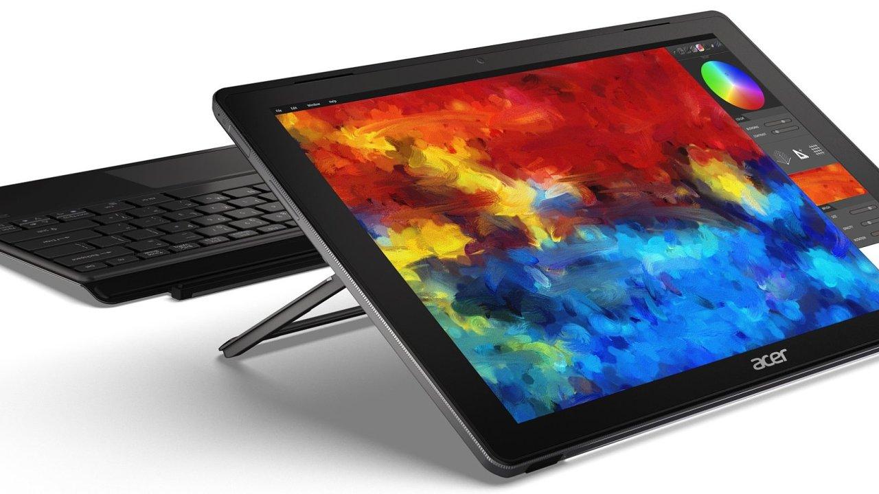 """Acer Switch 5 má elegantnější design s tmavými zády a """"zoubkovanými"""" hranami"""
