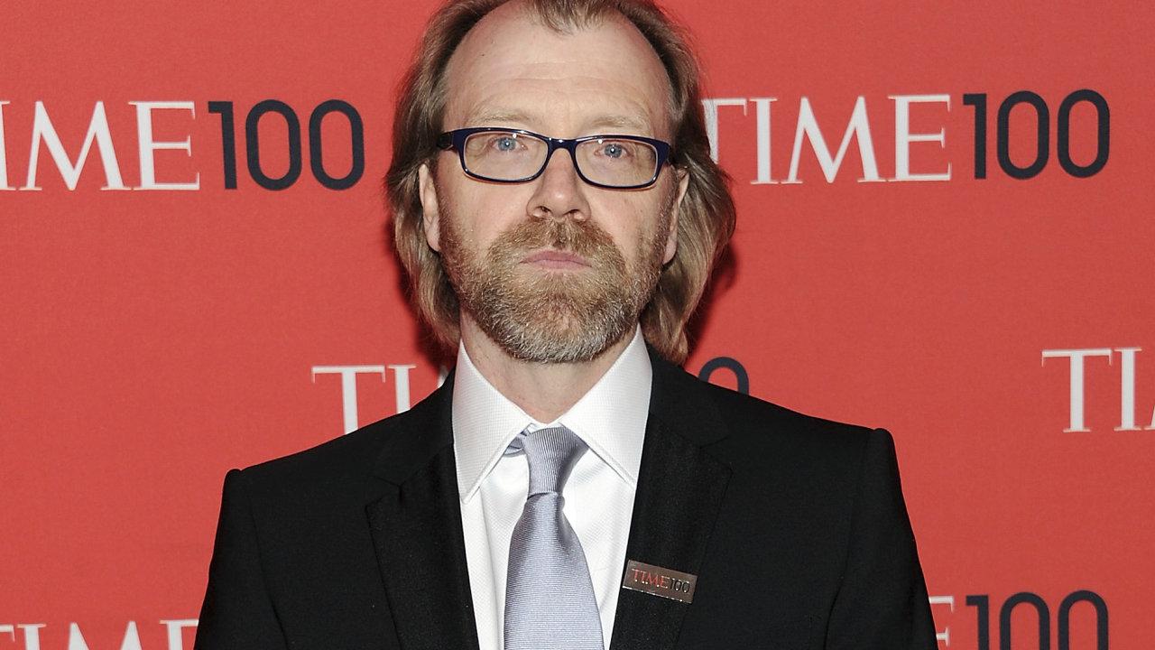 Na snímku z dubna 2013 je spisovatel George Saunders, nyní nominovaný na Man Bookerovu cenu za novelu Lincoln in the Bardo.