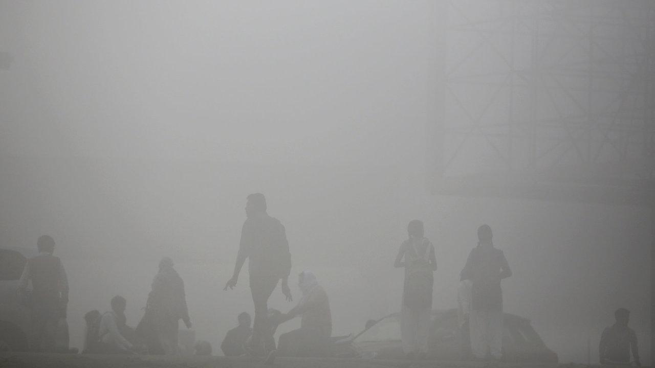 Indie, ovzduší, smog