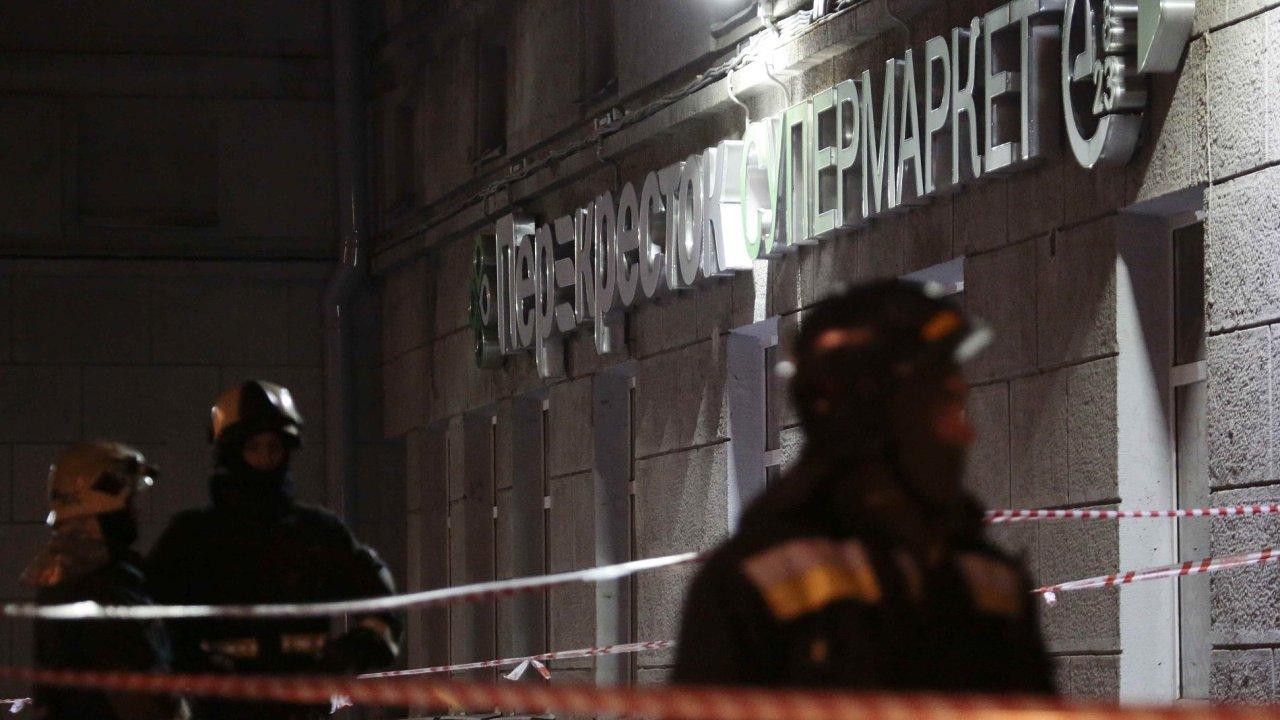 rusko výbuch útok petrohrad policie