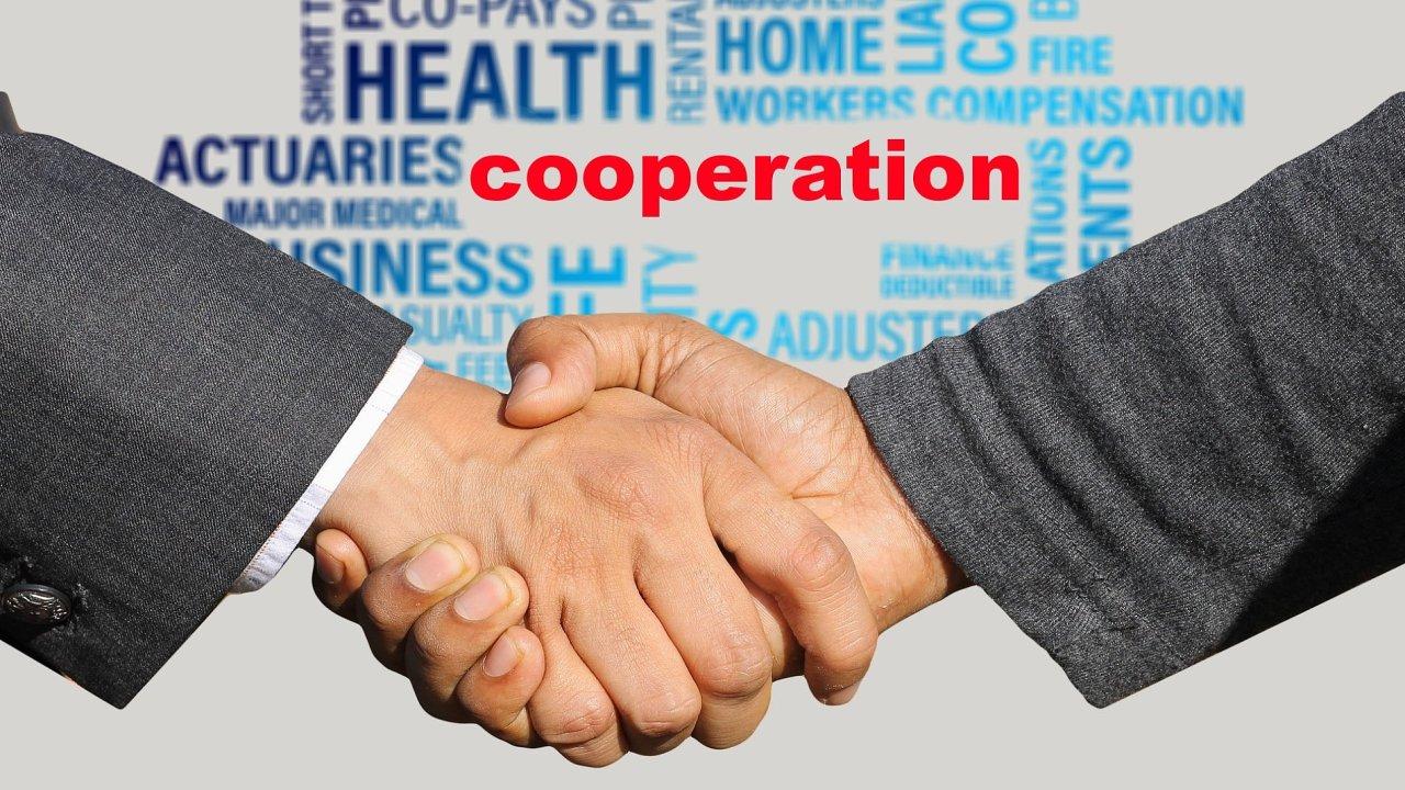 Spolupráce, ilustrace