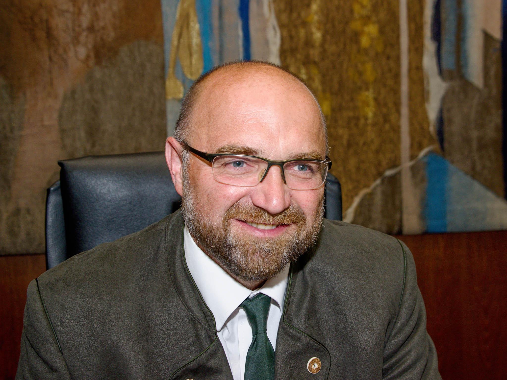 Jiří Janota, předseda Českomoravské myslivecké jednoty