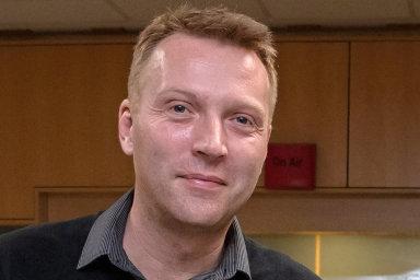 Tomáš Vacek, šéfredaktor Rádia Junior