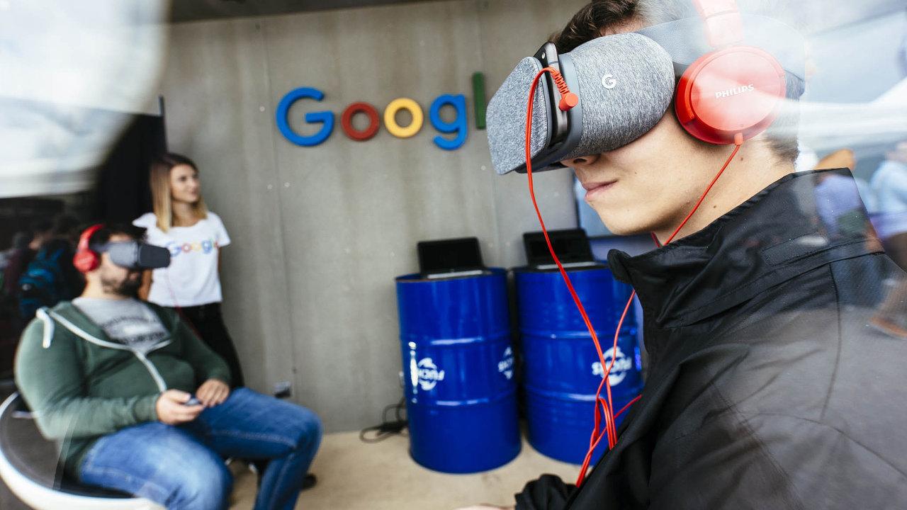 Google je už roky vysněnou prací pro české studenty.