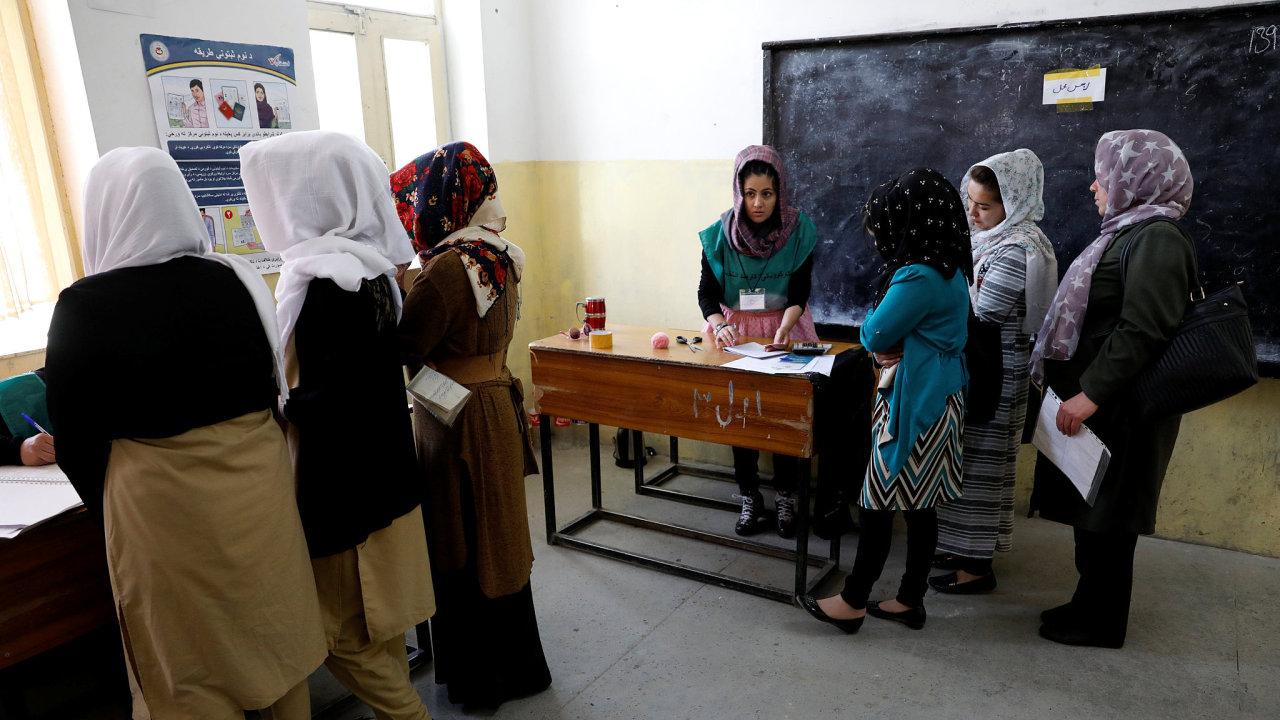 Afghanistan, volby, registrace voličů