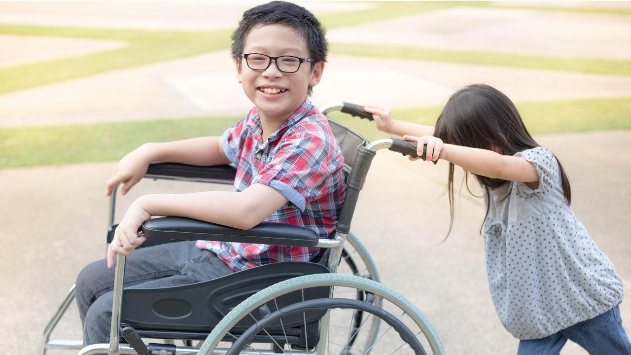 Výroba pomůcek pro handicapované a technologií pro bezbariérovou infrastrukturu je jedním znejrychleji rostoucích odvětví čínského hospodářství.