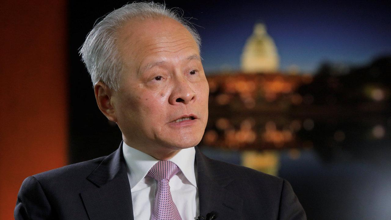 Cchuej Tchien-kchaj, čínský velvyslanec v USA