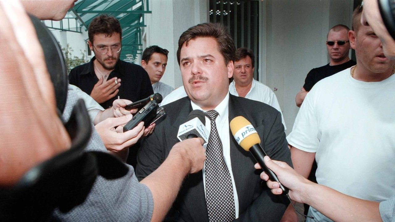 Marián Kočner na fotografii z 90. let.