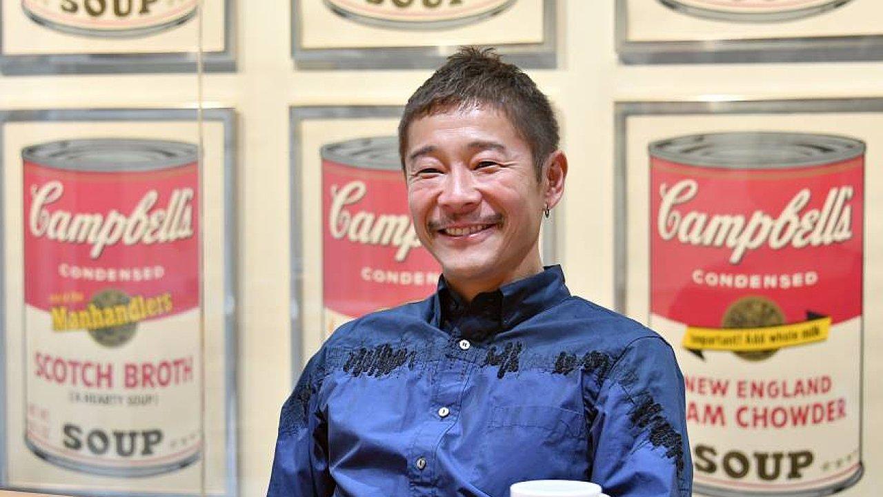Yusaku Maezawa je také sběratelem moderního umění a plánuje v Japonsku otevřít muzeum.