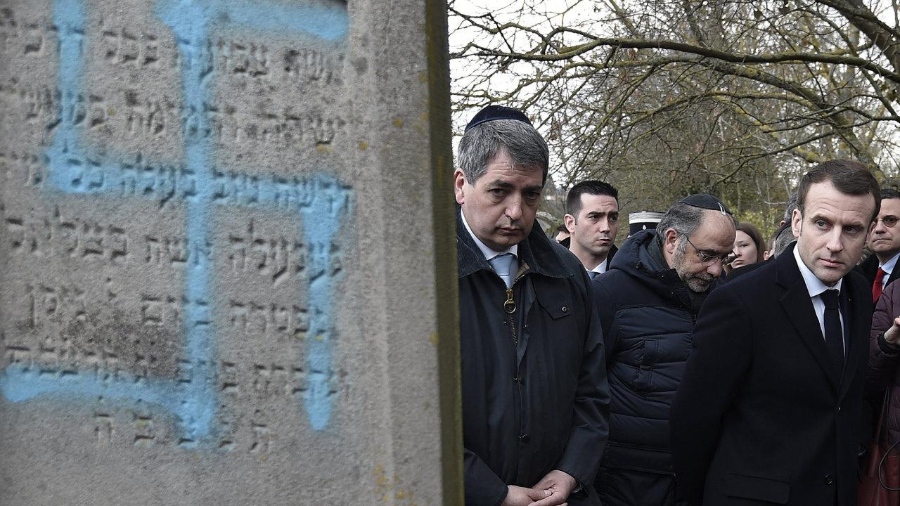 Židovská obec ve Francii je s přibližně 550 tisíci osobami jednou z největších v Evropě.