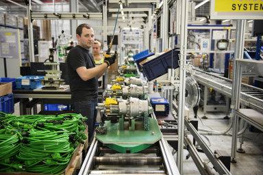 Globální poptávka po německém průmyslu je nízká.