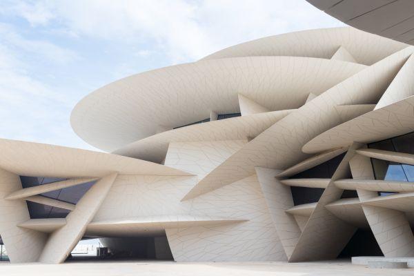 Národní muzeum Státu Katar -  designed by Ateliers Jean Nouvel Iwan Baan