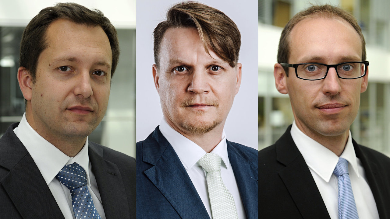 Vladimír Jaroš, Petr Kincl a Daniel Smola, poradenská společnost PwC