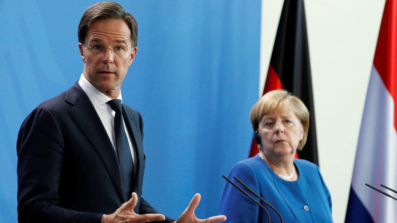 Evropský skrblík: Vmládí Mark Rutte uvažoval, že půjde studovat hudbu, pak se ale rozhodl pro univerzitu avstoupil dopolitiky. VEvropě je známý snahou tvrdě šetřit.