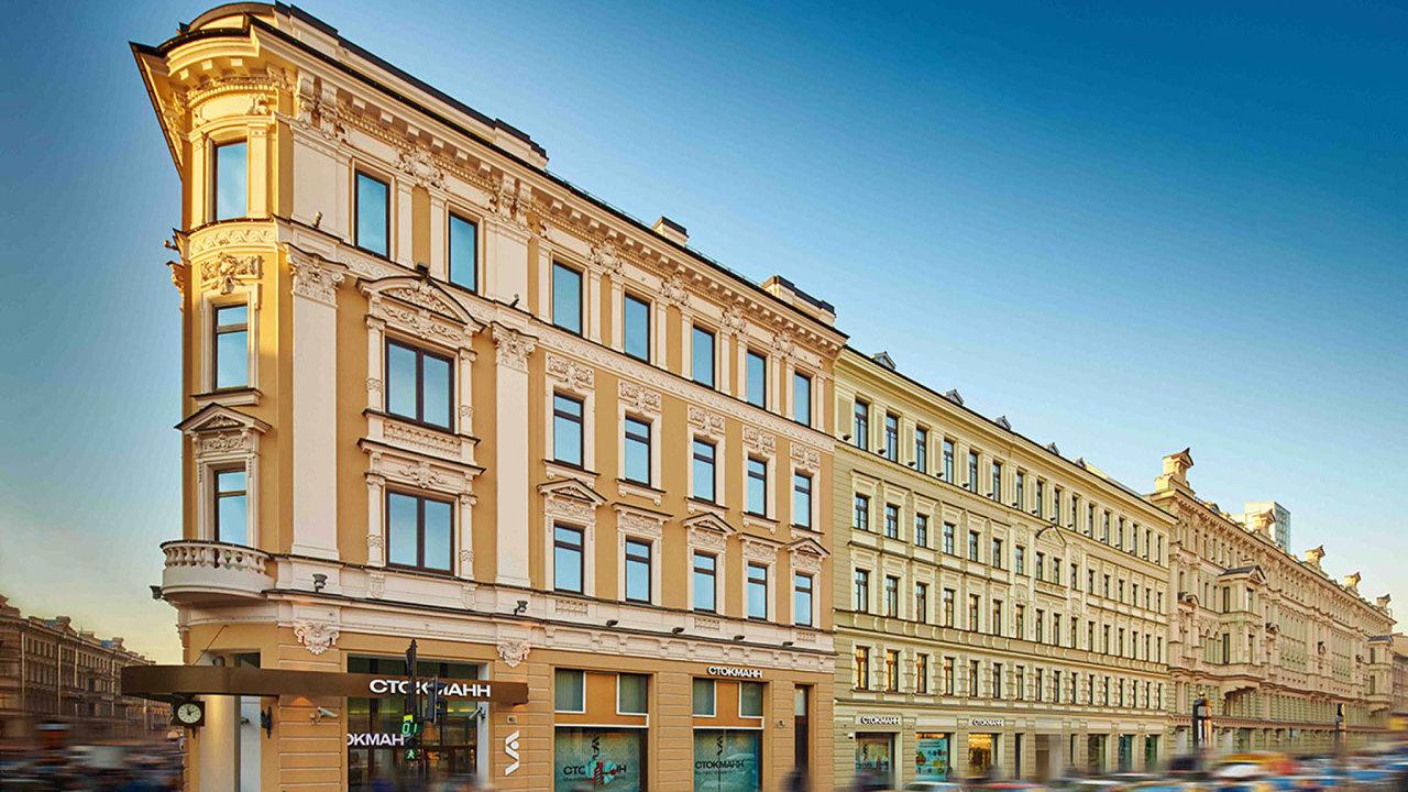 Společnost PPF Real Estate koupila od finské firmy Stockmann obchodní centrum Něvskij v Petrohradě.