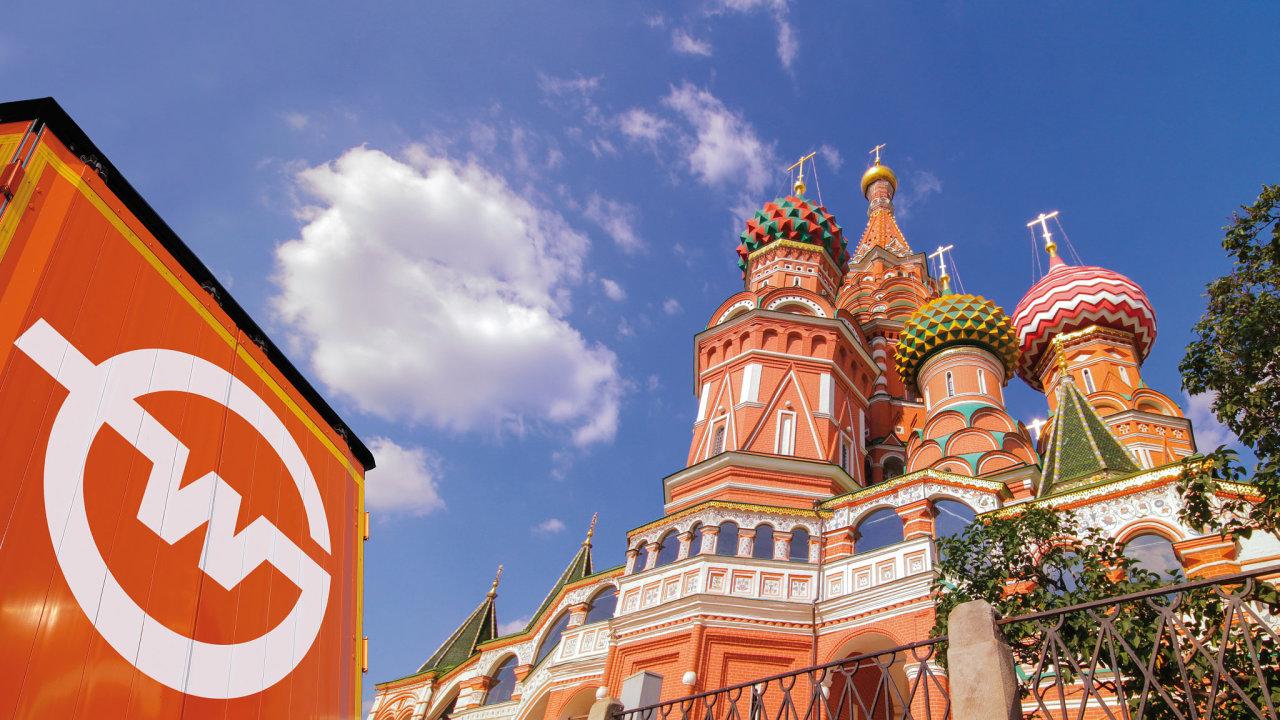 Přeprava do Moskvy trvá čtyři až pět dnů, poté je zboží přepravováno příslušným příjemcům v Rusku výhradním lokálním partnerem, logistickou společností JDE (ilustrační snímek).