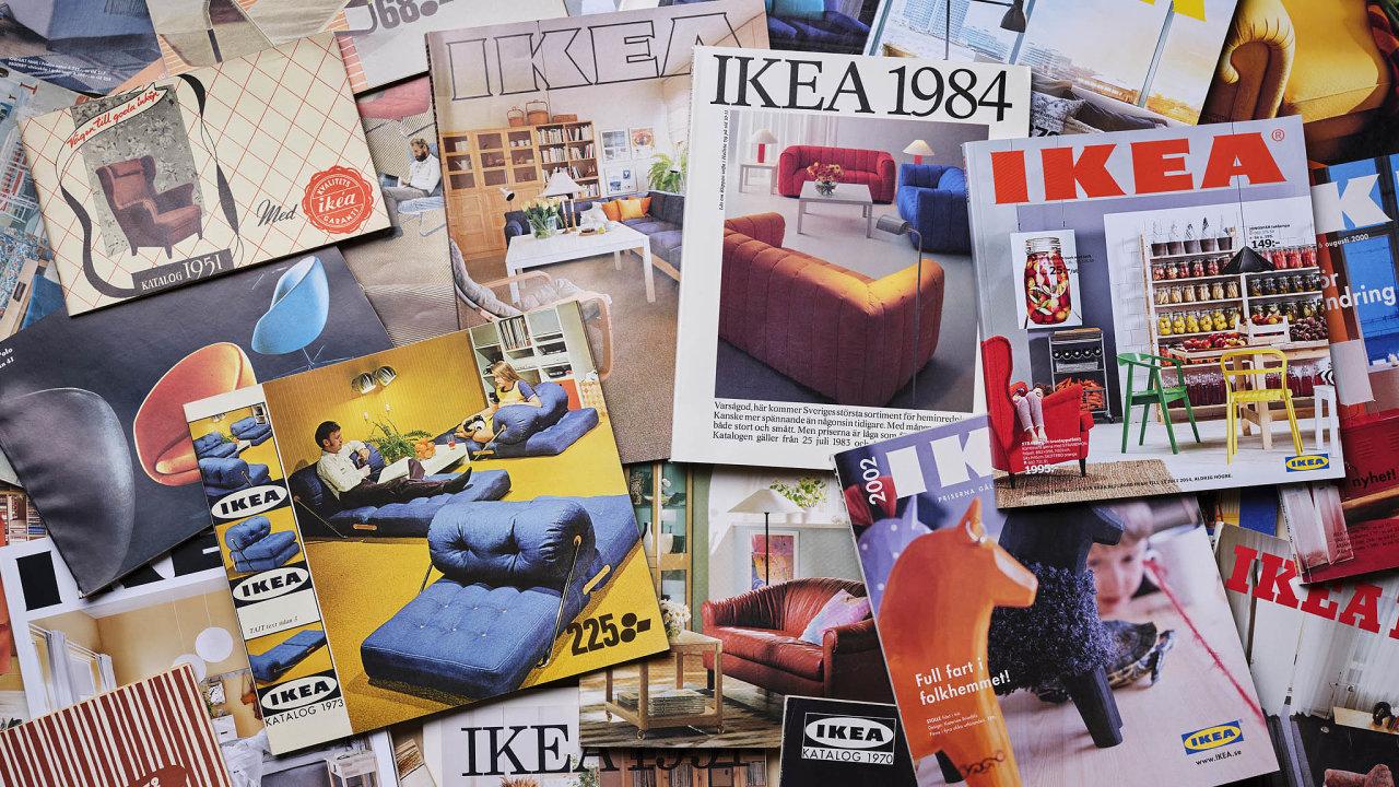 První katalog Ikea vydala roku 1950 vnákladu 285 tisíc kusů. Toho definitivně posledního, letošního, tiskla 40 milionů.