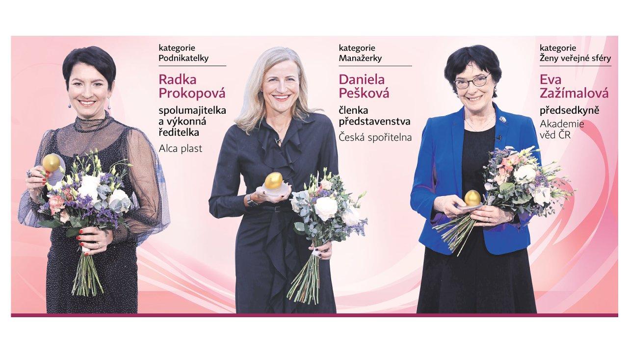 Anketa TOP ženy Česka zná vítězky.