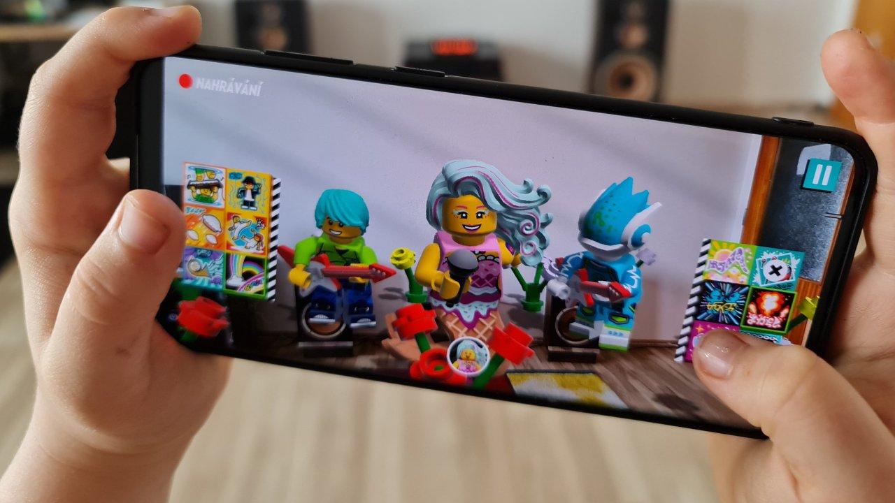 Lego Vidiyo nechává reálné stavebnice oživnout v mobilní aplikaci