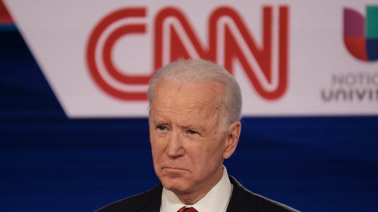 Báječná jízda s Trumpem ale skončila. Sledovanost CNN v hlavním večerním čase se za posledních pět týdnů snížila o 45 procent, poklidný Joe Biden (na snímku) tolik netáhne.