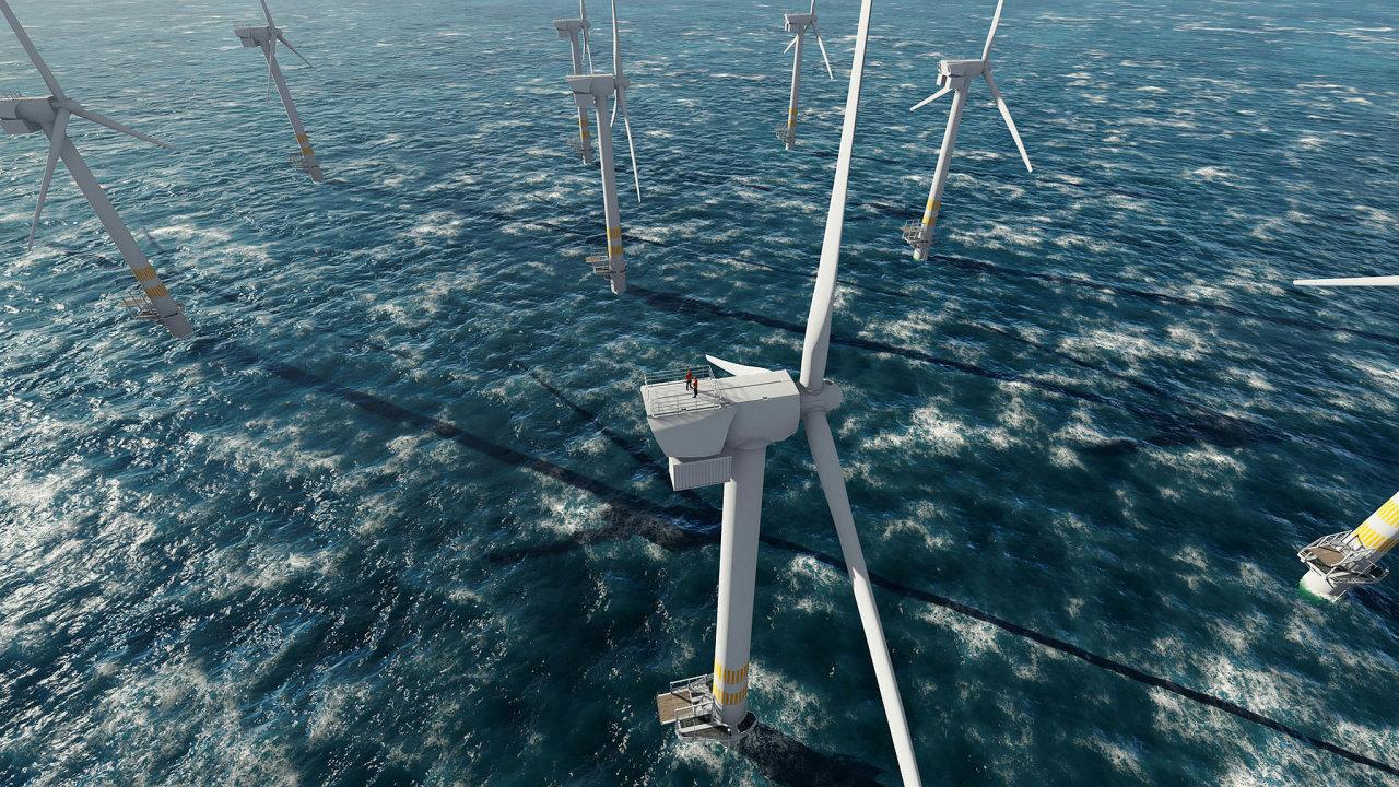 Zelený vodík přichází z mořských vln.