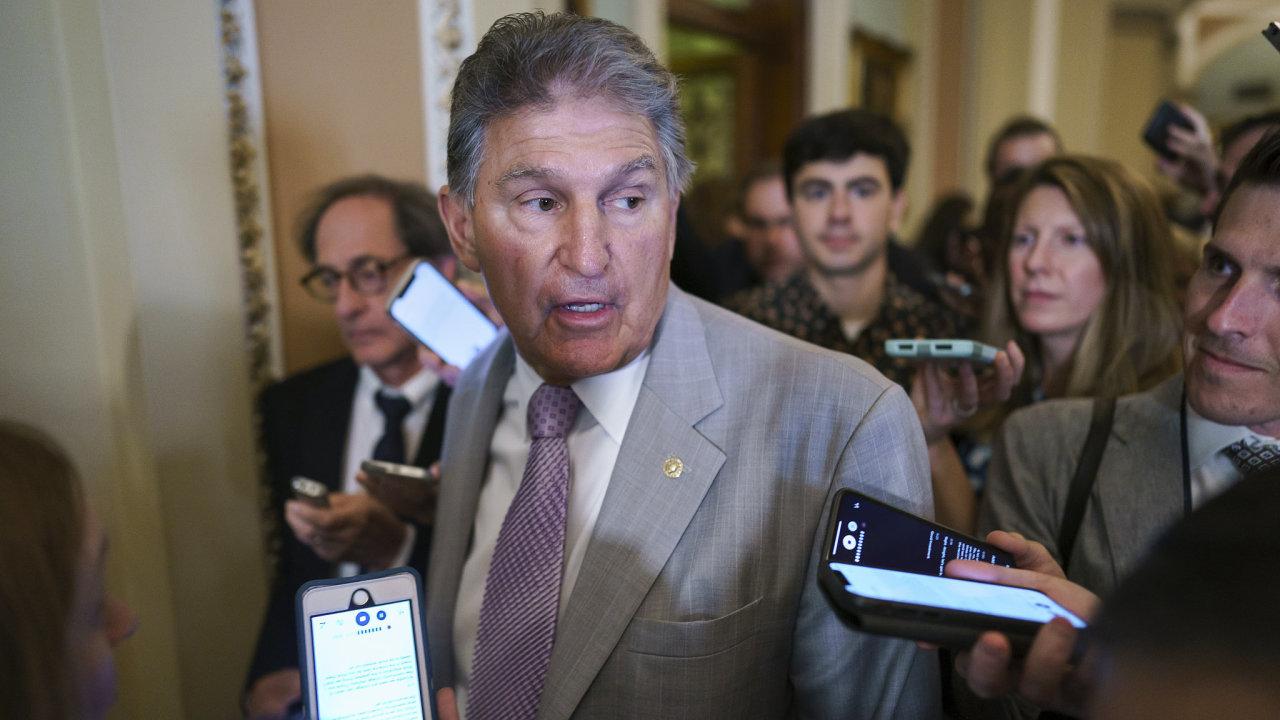 Senátor Joe Manchin.