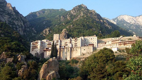 Athos, Řecko
