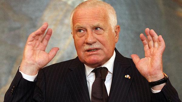 Exprezident V�clav Klaus