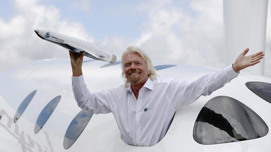 Extravagantní podnikatel Richard Branson