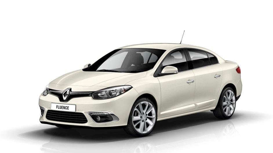 Renault Fluence se loni před modernizací prodával od 224 900 Kč, teď začíná o 45 tisíc výš.