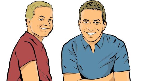 Tomáš Mohr (na ilustraci vpravo) a Rostislav Levkovič z firmy Lingvus