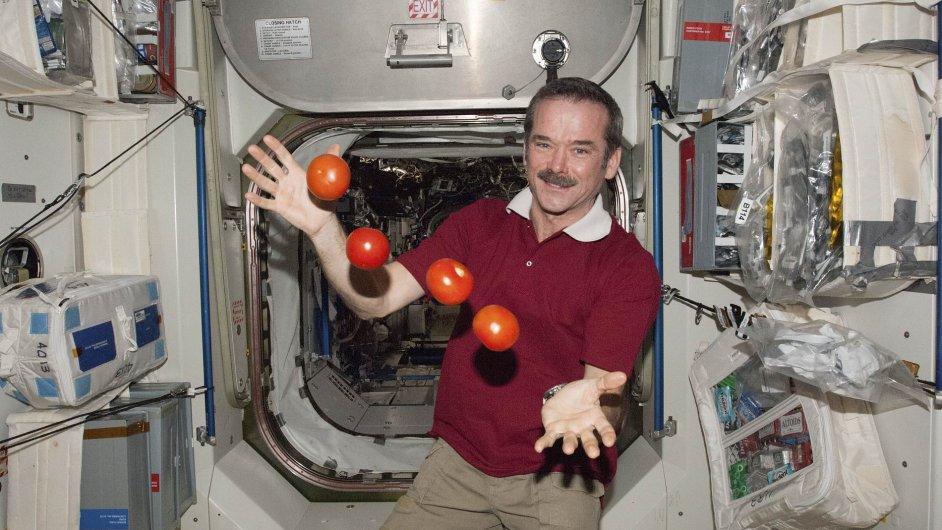 Chris Hadfield, velitel posádky ISS