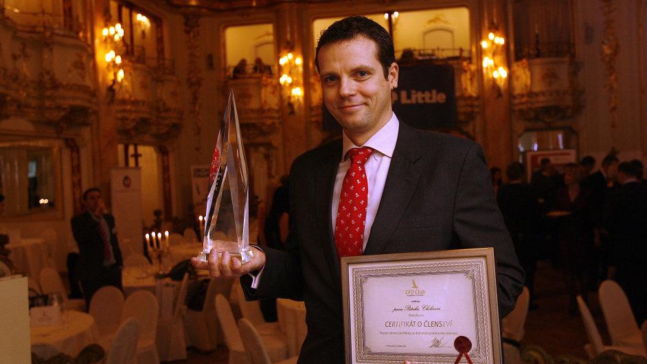 Vítěz ankety Finanční ředitel roku 2012 Patrik Choleva