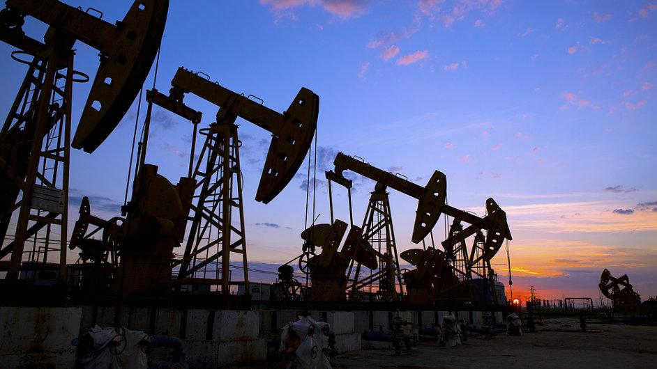 Těžba plynu (ilustrační foto)