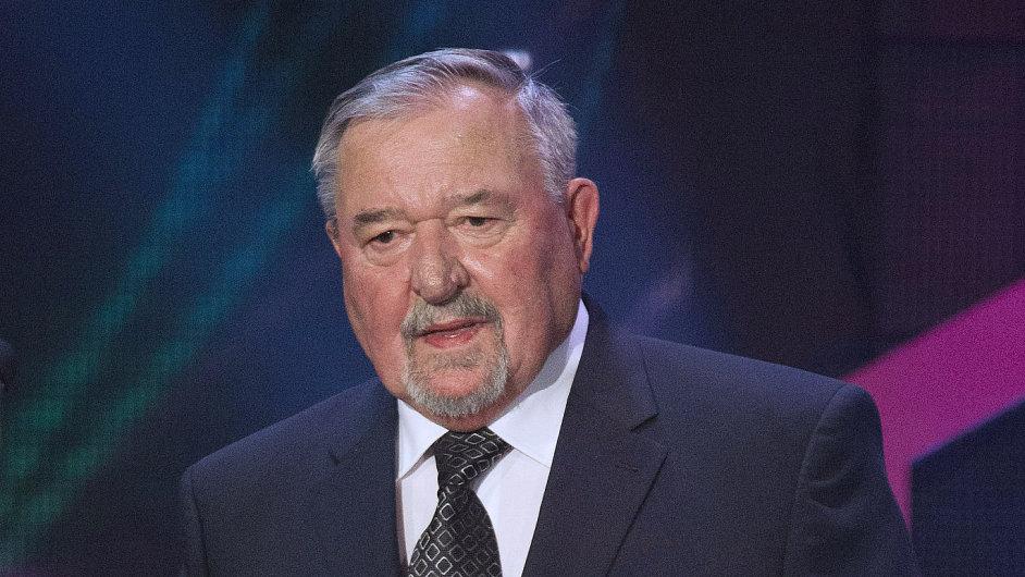 František Šmahel, nositel Národní ceny vlády