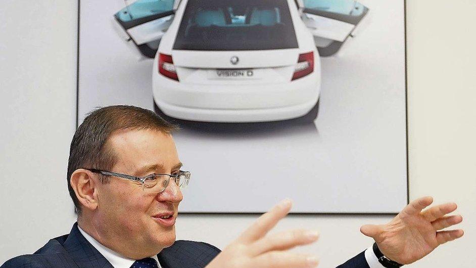 Bohdan Wojnar, člen představenstva Škody Auto zodpovědný za oblast řízení lidských zdrojů