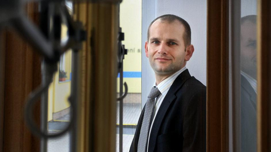Generální ředitel Safiny Tomáš Plachý.