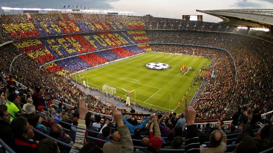 Nou Camp, domácí stadion FC Barcelony