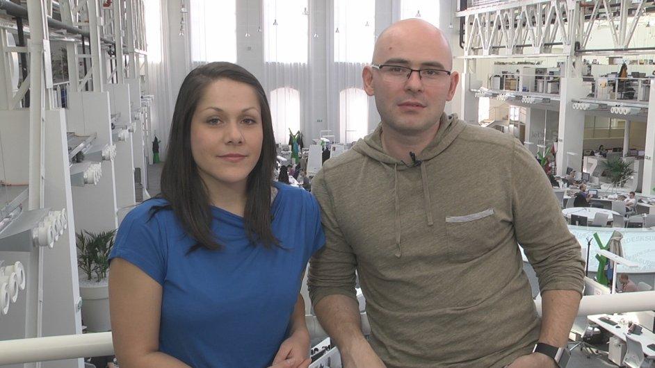 Gabriela Marešová a Otakar Schön