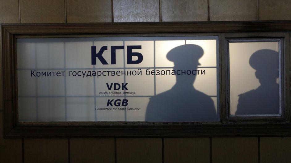 Bývalé sídlo KGB v Rize