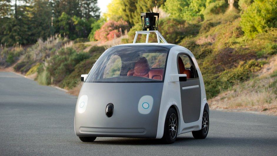 Google Self Driving Car je zatím ve stádiu testování.