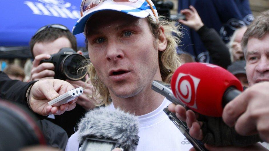Pavel Nedvěd po pražském půlmaratonu