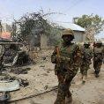 Ugand�t� voj�ci slou��c� v Som�lsku po boji s radik�ly v Mogadi�u