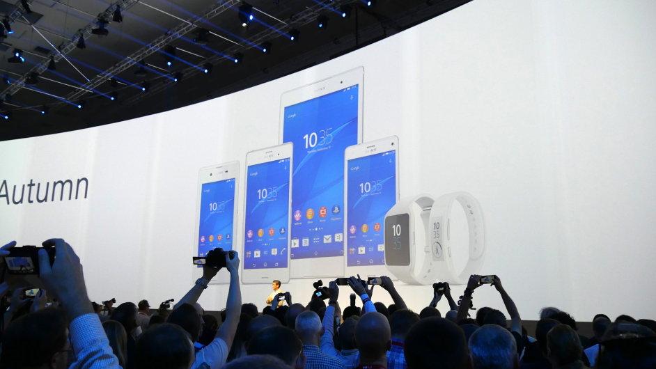 Produktová řada Sony Xperia Z3 vstoupí brzy na trh