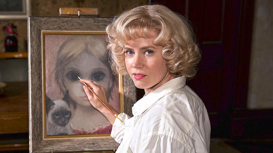 Burtonův nový film je o malířce, jejíž díla vydával manžel za své.