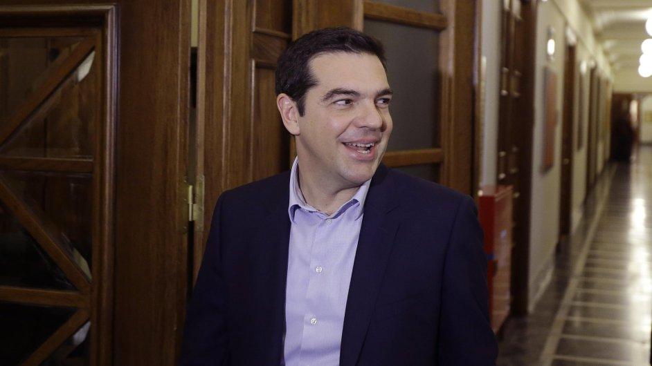 Řecký premiér Alexis Tsipras zatím neztrácí dobrou náladu.