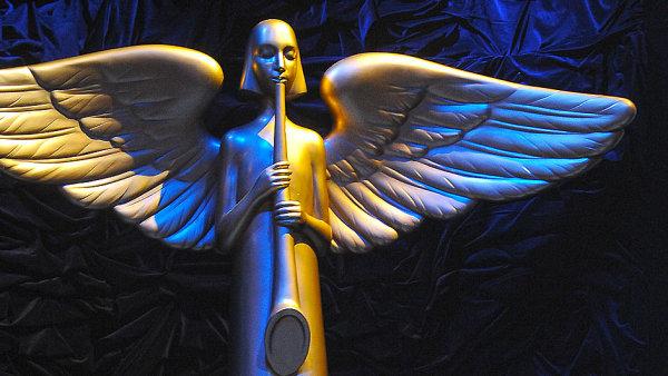 Ceny Anděl se budou udílet 16. dubna.