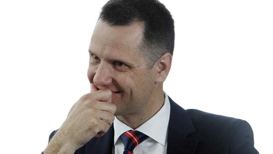Attila Dsupin, ředitel společnosti MOL Retail Česká republika