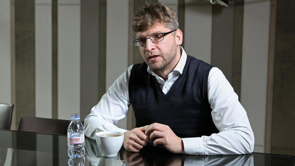 Martin Štefunko, odcházející předseda dozorčí rady O2.